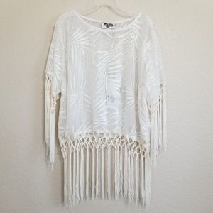 NWT Show Me Your Mumu Embroidered Blouse M
